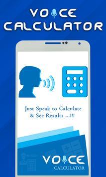 Smart Voice Calculator- Digital Talking Calculator poster