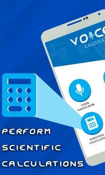 Smart Voice Calculator- Digital Talking Calculator screenshot 1