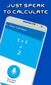 Smart Voice Calculator- Digital Talking Calculator screenshot 4