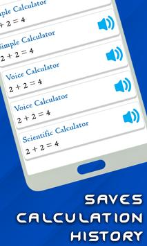 Smart Voice Calculator- Digital Talking Calculator screenshot 5