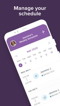 Free Employee Scheduler & Time Tracker by Homebase poster