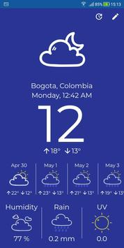 Simply Weather screenshot 1