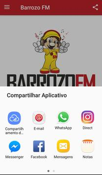 Barrozo FM screenshot 2