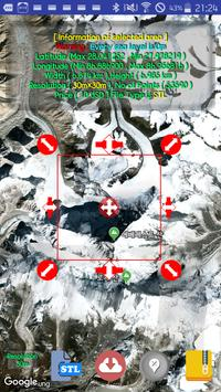 Real Terrain 3D Modeling To STL,OBJ,DXF for Android - APK