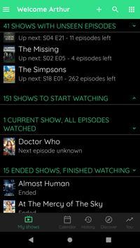 TV Show & Movie Tracker - Trakt client screenshot 7