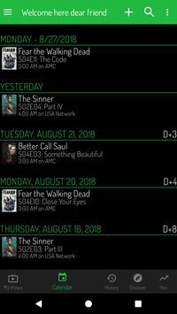 TV Show Tracker - Trakt client screenshot 1