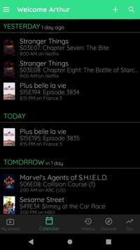 TV Show & Movie Tracker - Trakt client screenshot 3
