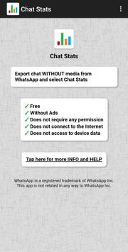 Chat Stats الملصق