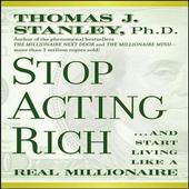 STOP ACTING RICHby Thomas J. Stanley icon