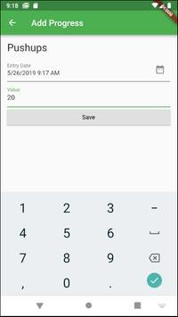 Progress Tracker screenshot 1