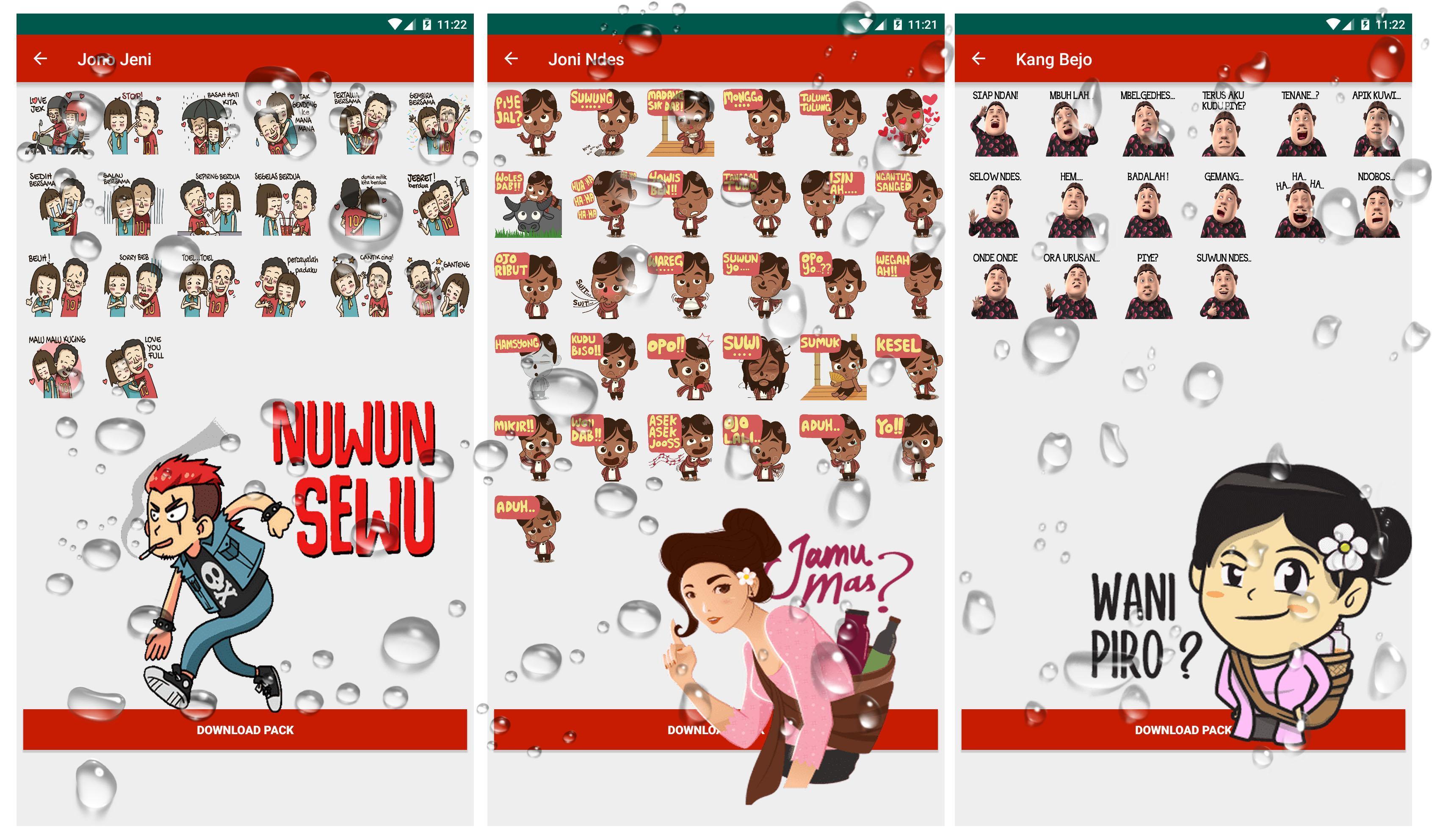 WA Sticker Jowo Guyonan Jawa for WhatsApp for Android APK