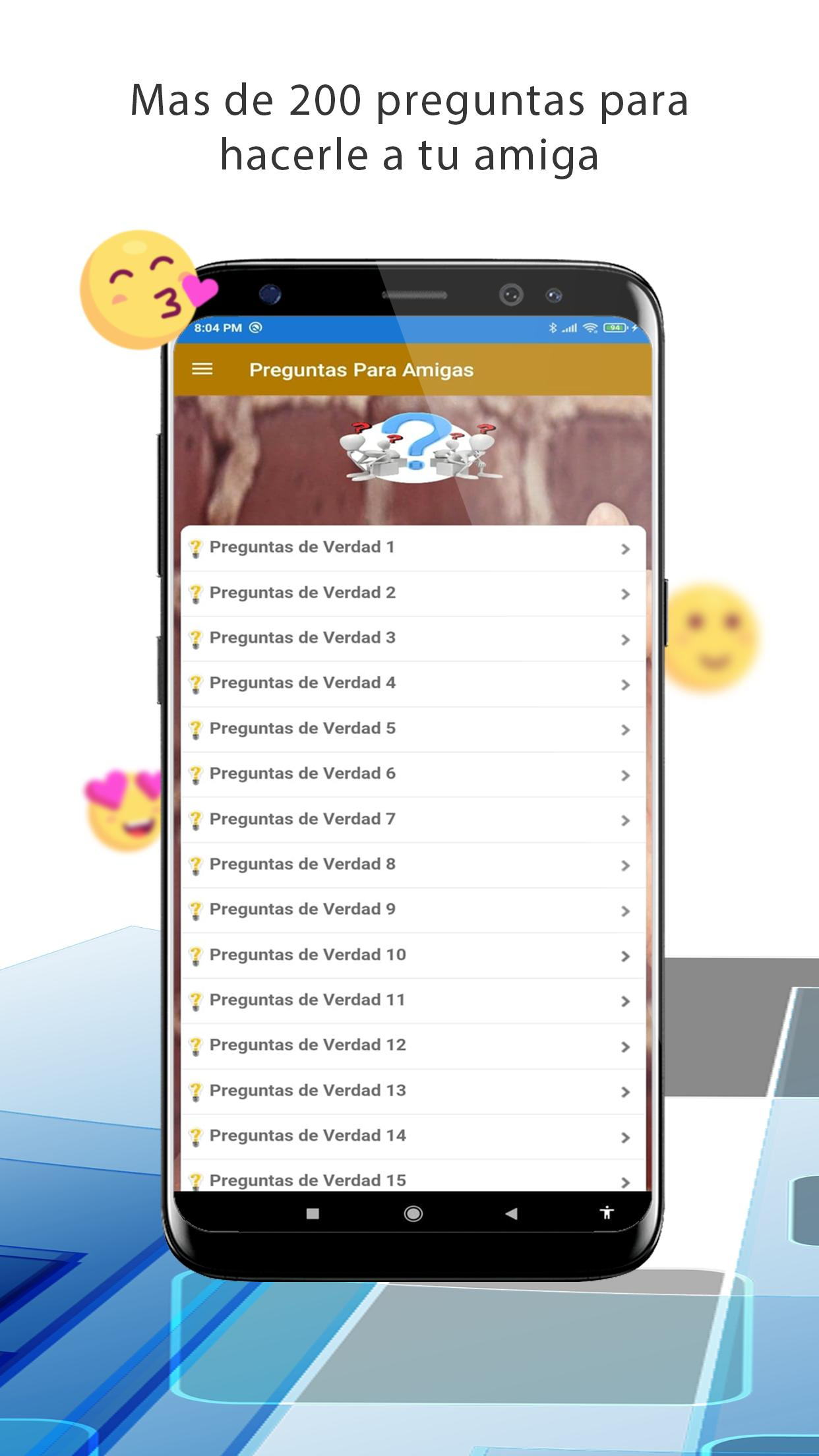 Preguntas Incomodas Para Amiga Para Android Apk Baixar