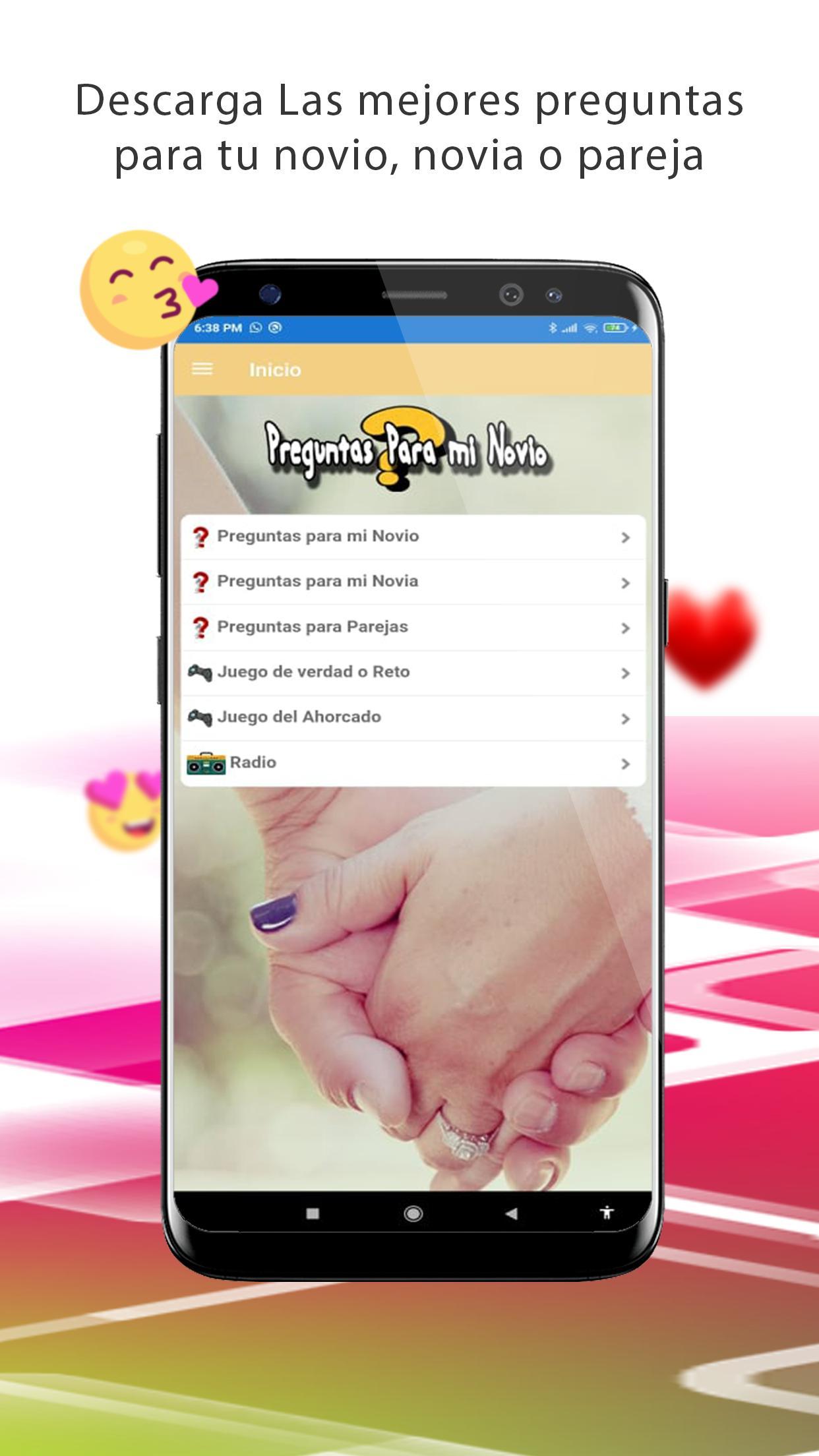 Preguntas Para Mi Novio Novia Parejas For Android Apk Download