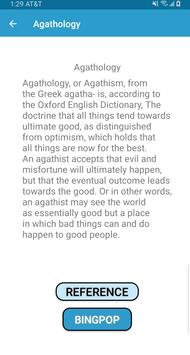 Agathology Reference Pod screenshot 1
