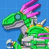 Velociraptor Rex Dino Robot biểu tượng