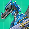 Icona Black Pterosaur Attack - Robot Toy War
