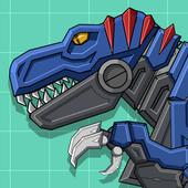 Robot Dino T-Rex Attack icon