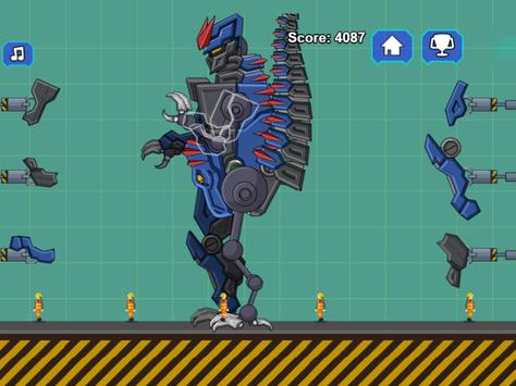 Robot Dino T-Rex Attack screenshot 10