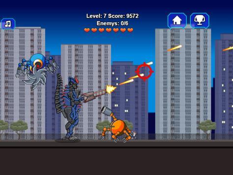 Robot Dino T-Rex Attack screenshot 11