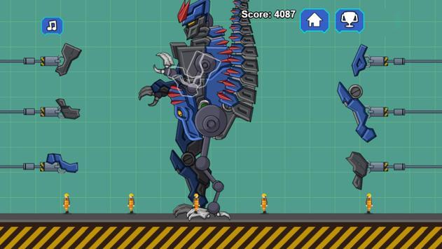 Robot Dino T-Rex Attack screenshot 2