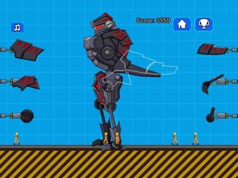 Robot Dinosaur Black T-Rex screenshot 9