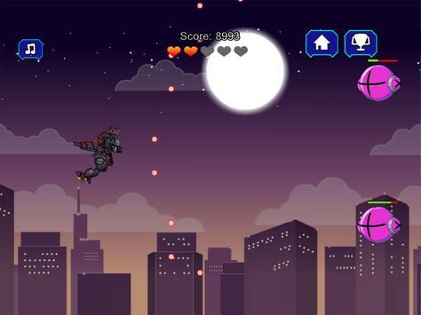 Robot Dinosaur Black T-Rex screenshot 11