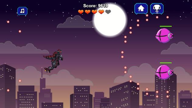Robot Dinosaur Black T-Rex screenshot 3
