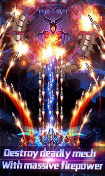 الرعد الاعتداء: حرب الفضاء الطائرة تصوير الشاشة 3