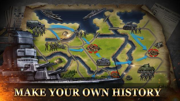 WW2: Strategy Commander Conquer Frontline screenshot 4