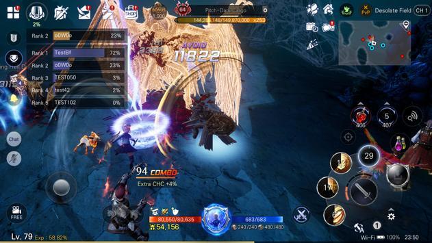 BLESS MOBILE captura de pantalla 6