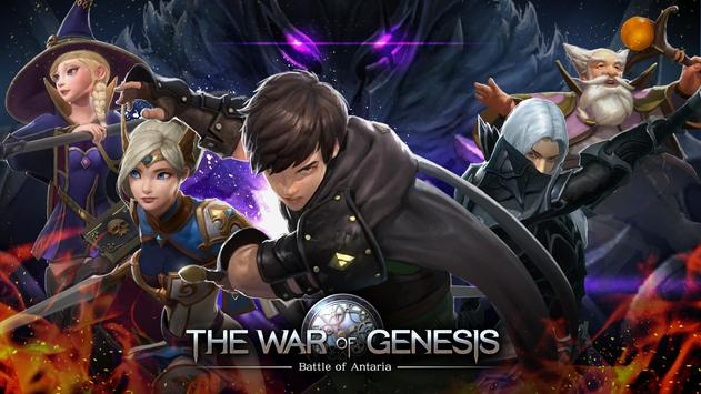 The War of Genesis постер