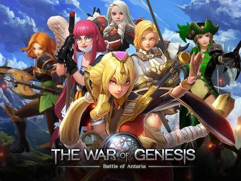 The War of Genesis Plakat