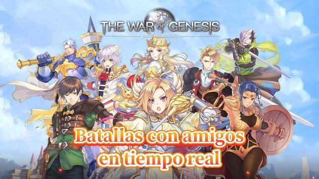 The War of Genesis captura de pantalla 6