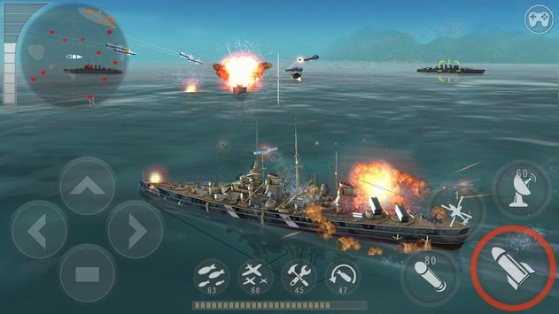 Морская битва: Мировая война постер