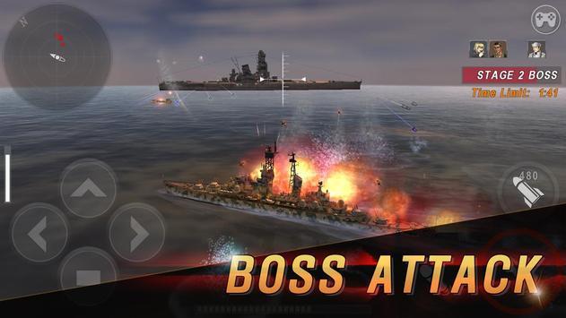 Морская битва: Мировая война скриншот 5