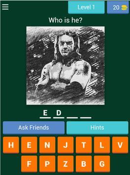 Wrestling fight quiz screenshot 12