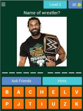 Wrestling fight quiz screenshot 15