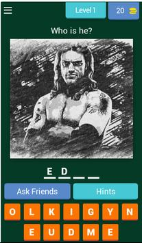 Wrestling fight quiz screenshot 2
