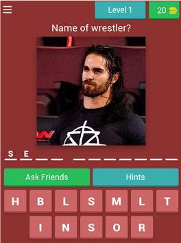 Wrestling champions quiz screenshot 12