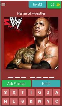 Wrestling champions quiz screenshot 2