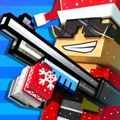 Cops N Robbers - 3D Pixel Craft Gun Shooting Games आइकन