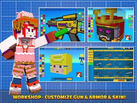 Cops N Robbers - 3D Pixel Craft Gun Shooting Games screenshot 14