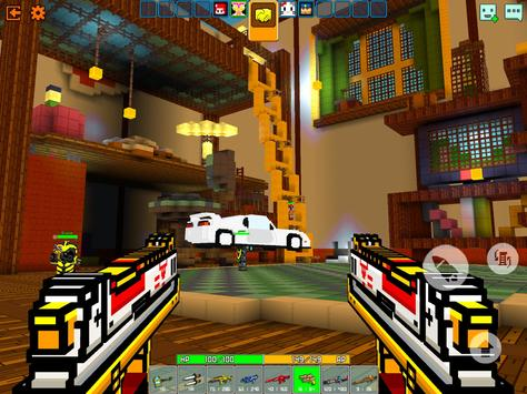 Cops N Robbers - 3D Pixel Craft Gun Shooting Games screenshot 18
