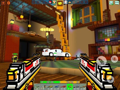 Cops N Robbers - 3D Pixel Craft Gun Shooting Games screenshot 18