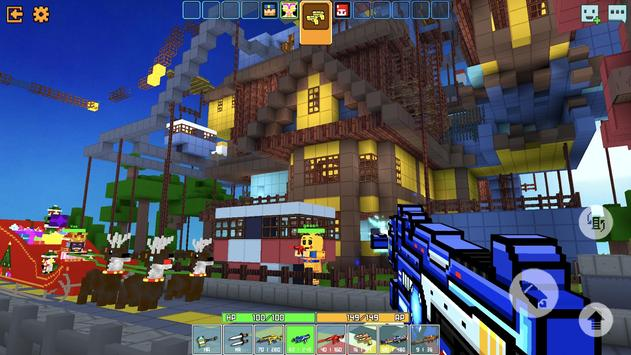 Cops N Robbers - 3D Pixel Craft Gun Shooting Games screenshot 1