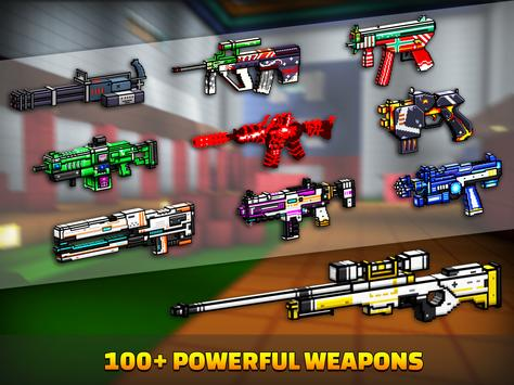 Cops N Robbers - 3D Pixel Craft Gun Shooting Games screenshot 20