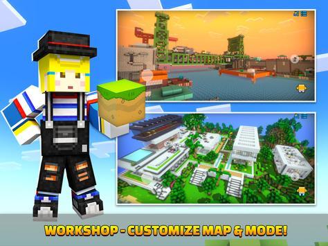 Cops N Robbers - 3D Pixel Craft Gun Shooting Games screenshot 13