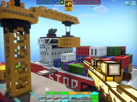Cops N Robbers - 3D Pixel Craft Gun Shooting Games screenshot 15