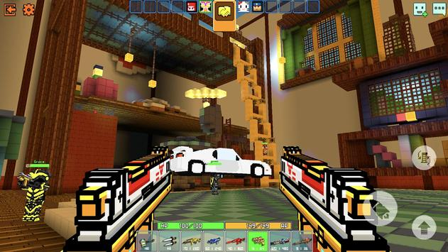 Cops N Robbers - 3D Pixel Craft Gun Shooting Games screenshot 2