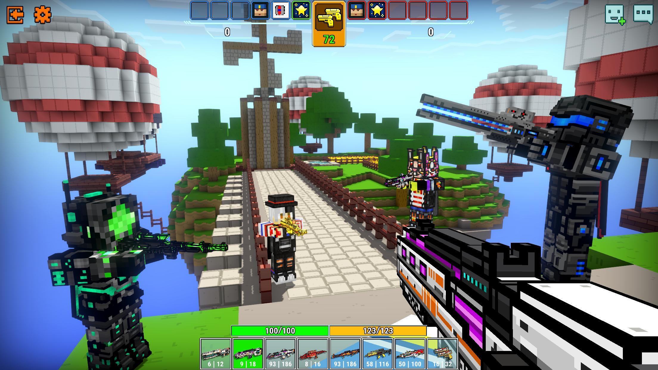3D Gun Games No Download cops n robbers - 3d pixel craft gun shooting games for